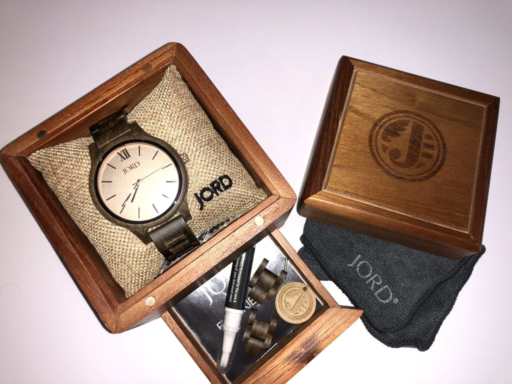 Jord Watches Review And Giveaway graphic