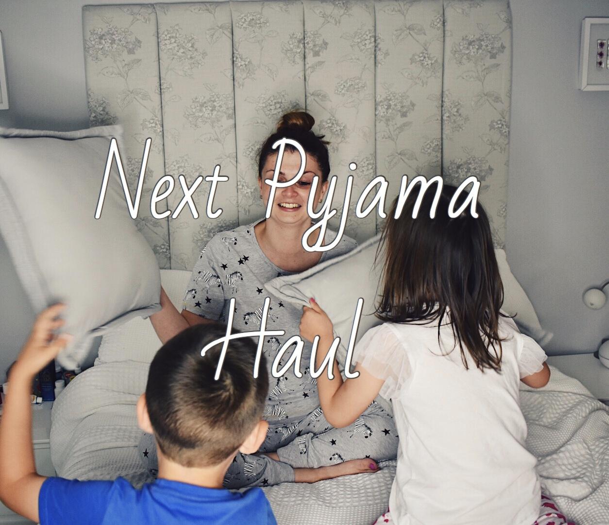 Next Pyjama Haul graphic