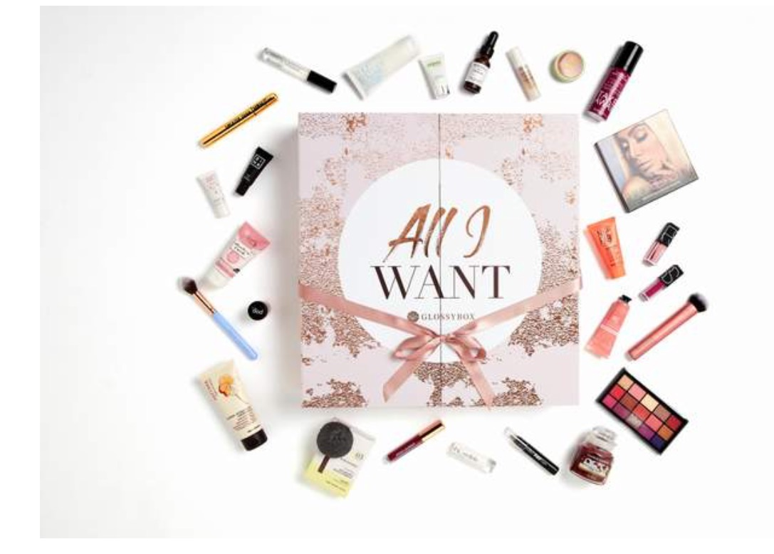 Glossybox advent Calendar for 2018