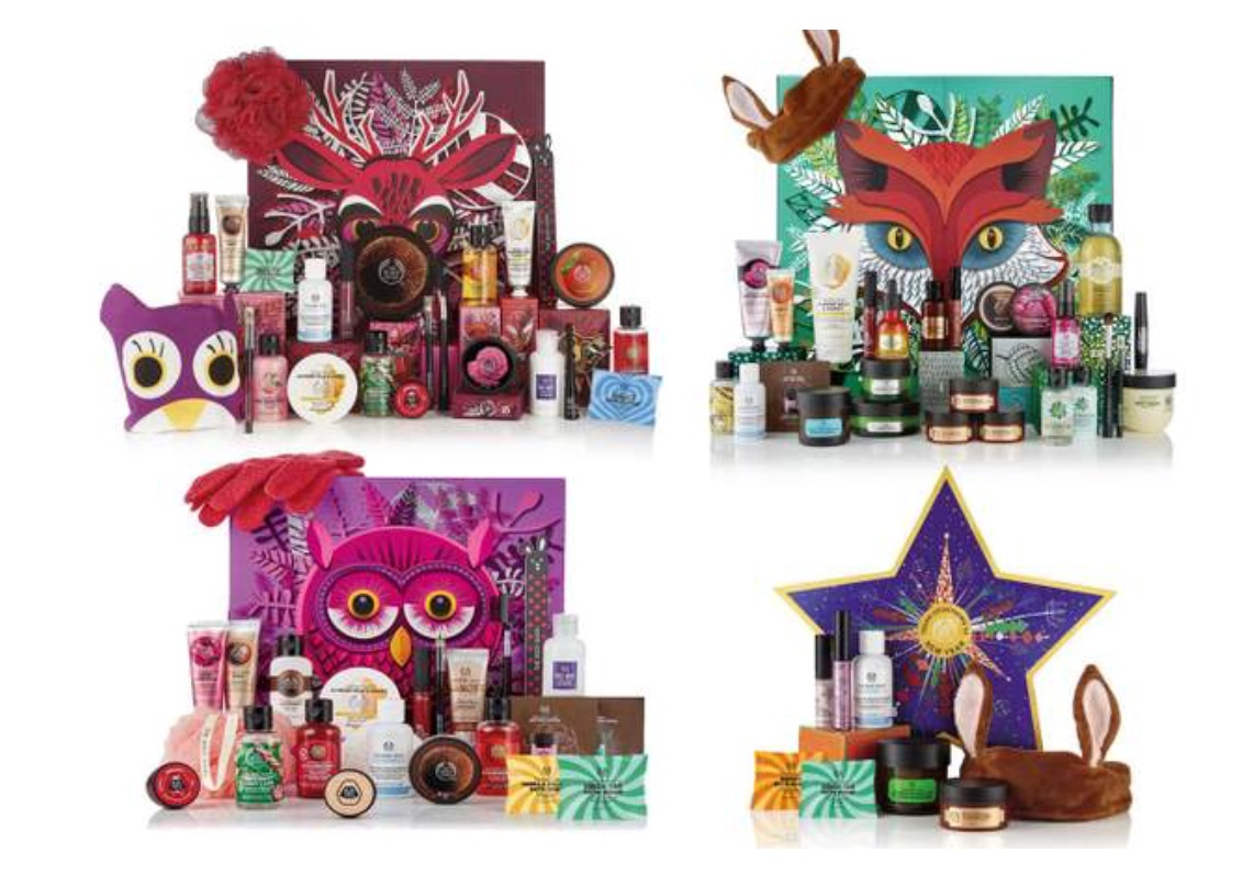 The Body Shop Advent Calendars for 2018