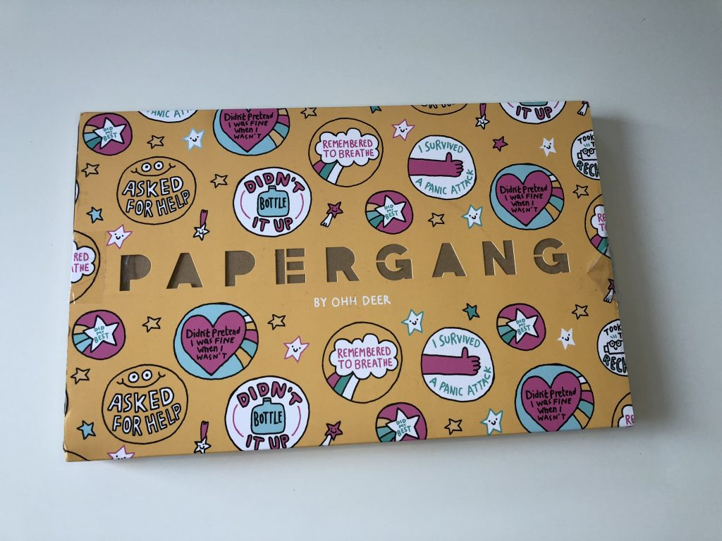 Papergang's September Stationary Subscription Box graphic