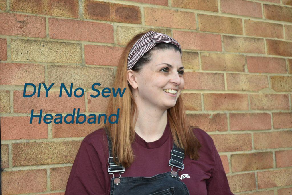 DIY No Sew Headband graphic