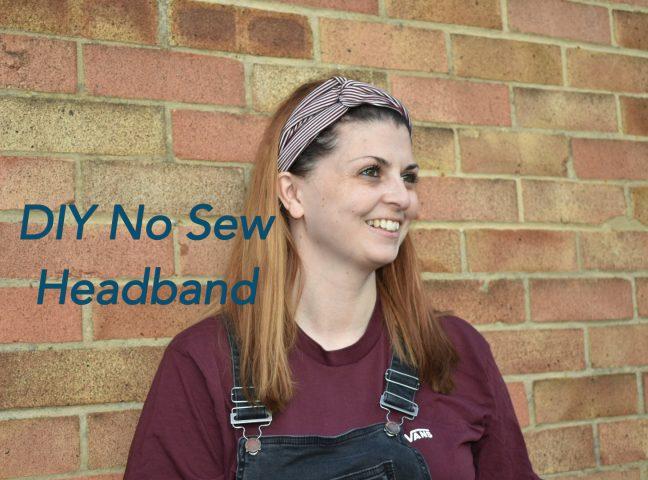 DIY No Sew Headband