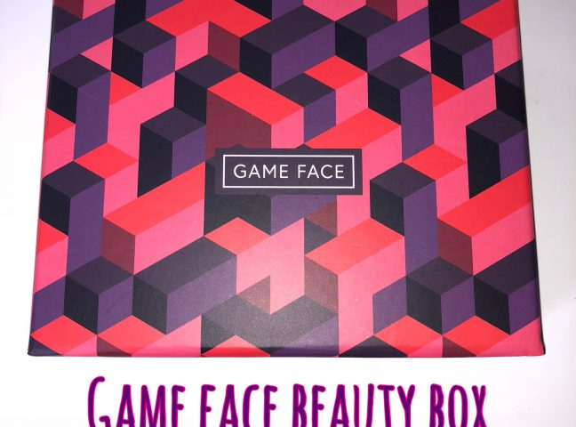 Game Face Beauty Box Review