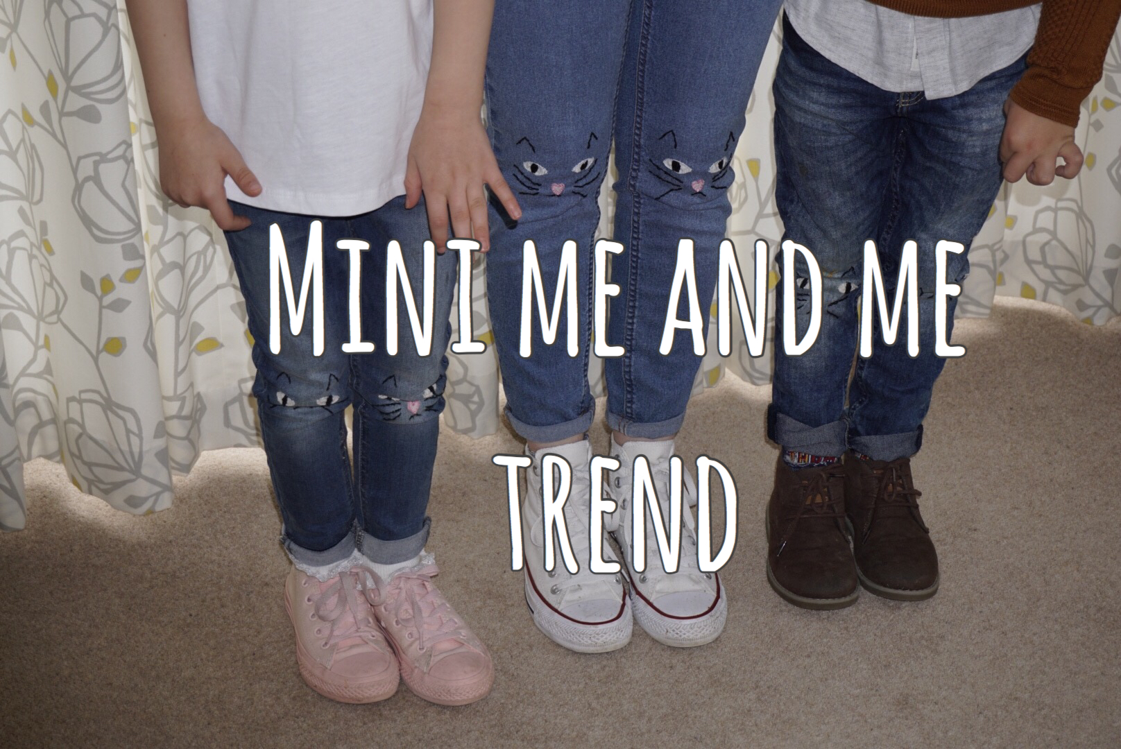 Mini Me And Me Trend graphic