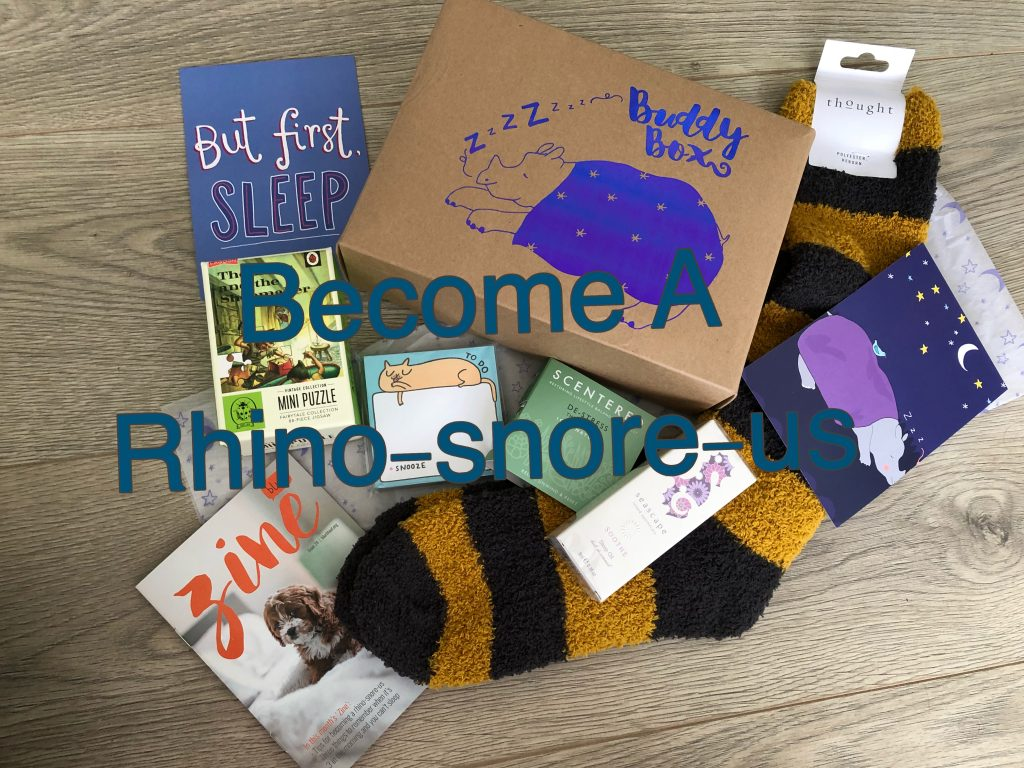 Become A Rhino-Snore-Us graphic