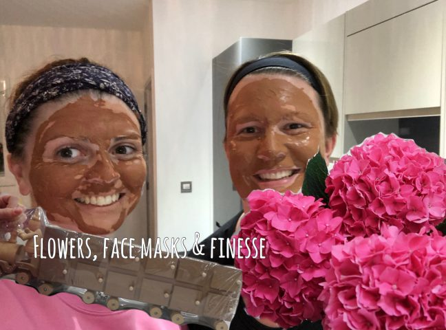 Flowers, Face Masks & Finesse