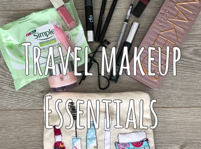 My Travel Makeup Essentials