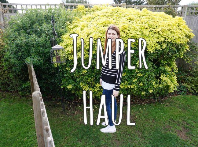 Jumper Haul