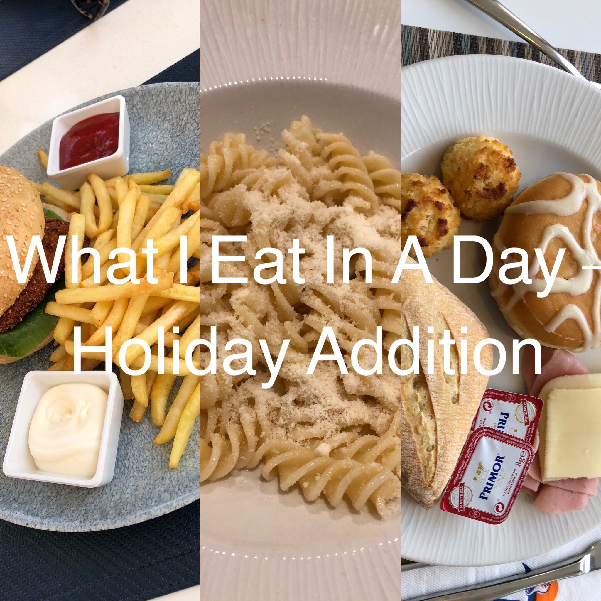 What I Eat In A Day – Holiday Addition graphic