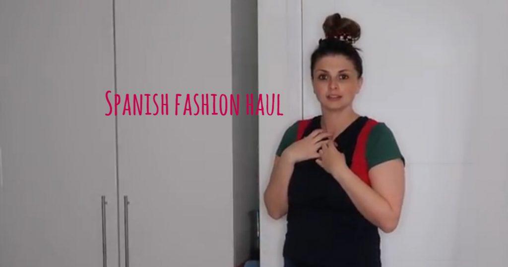 Spanish Fashion Haul graphic