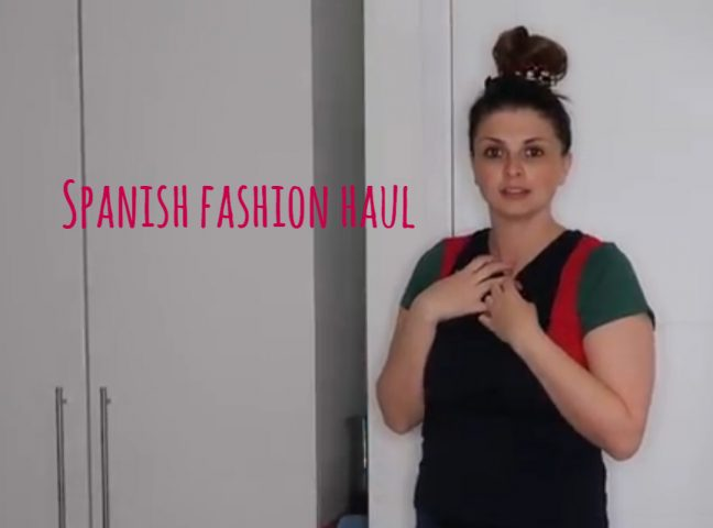 Spanish Fashion Haul