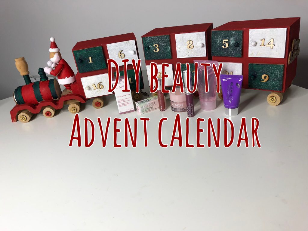 DIY Beauty Advent Calendar graphic