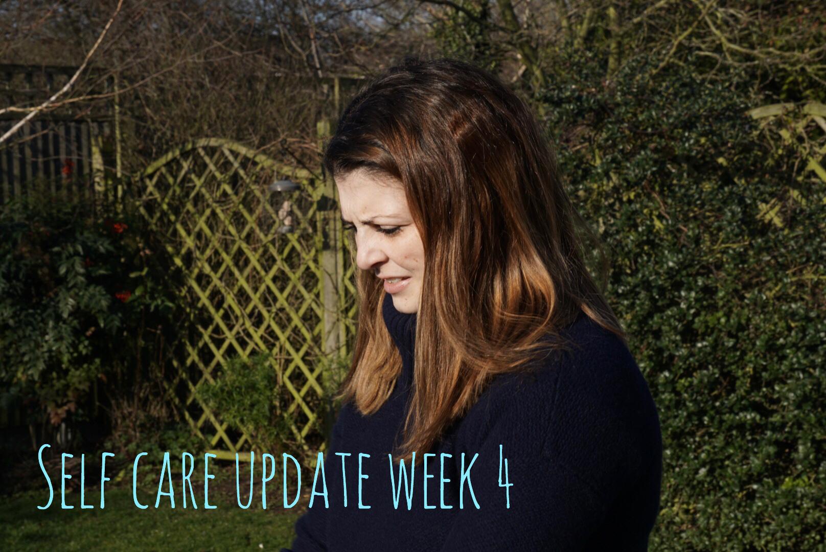 Self Care Week 4 Update graphic