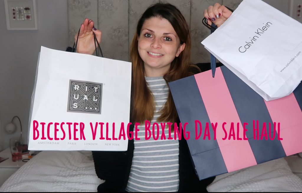 Bicester Village Boxing Day Sale Haul graphic