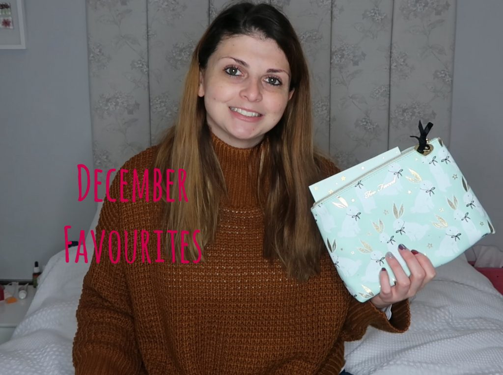 December Favourites graphic