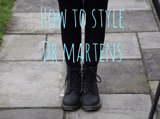 How To Style Dr Martens