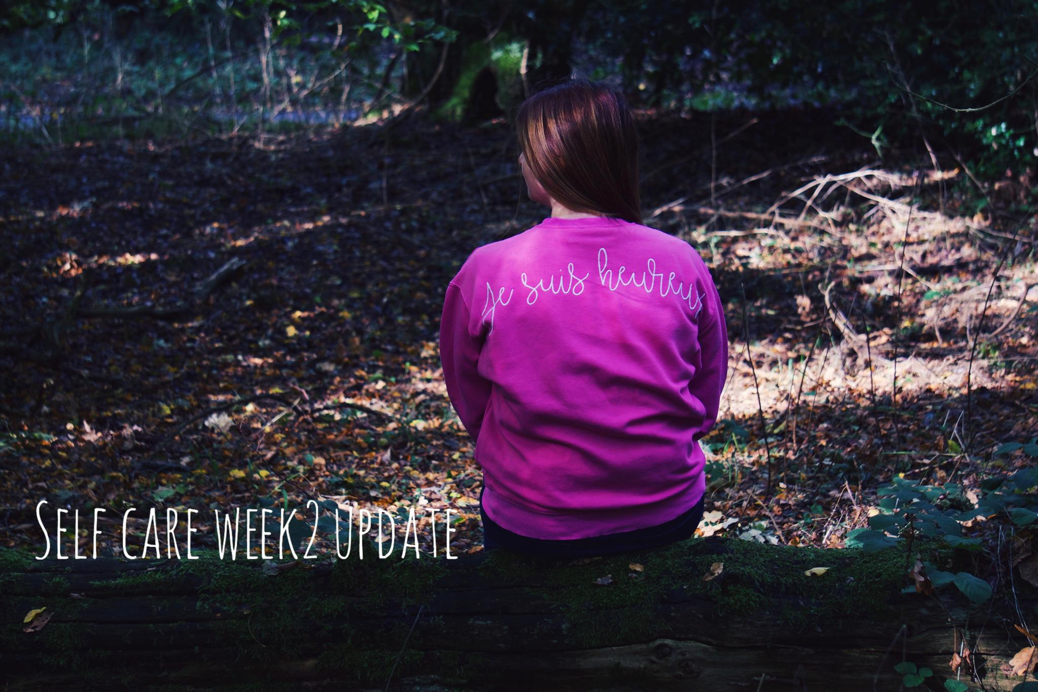 Self Care Week 2 Update graphic