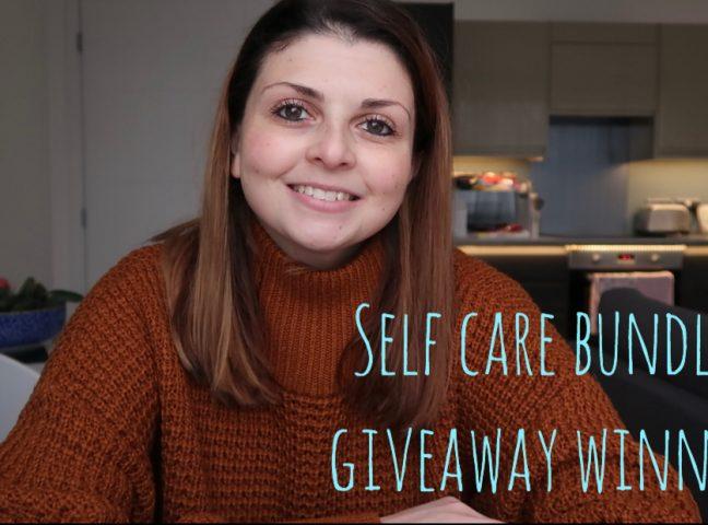 Self Care Bundle Giveaway Winner