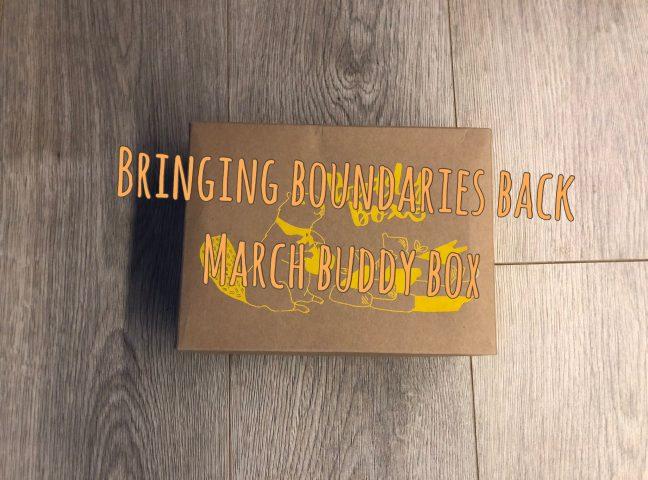 Bringing  Boundaries Back Buddy Box