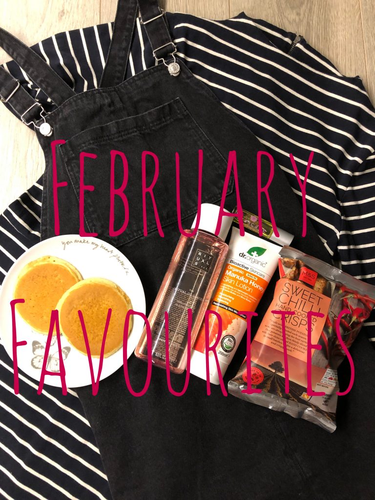 February Favourites 2019 graphic
