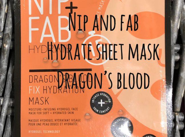 Nip + Fab Hyrdate Dragon's Blood Mask Review