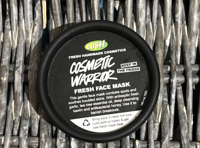 Lush Cosmetic Warrior Mask Review