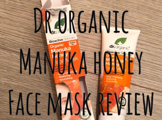 Dr Organic – Manuka Honey Face Mask Review