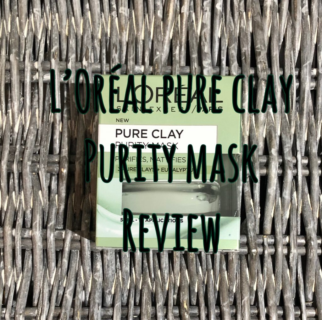 L'Oréal Pure Clay Purity Mask graphic