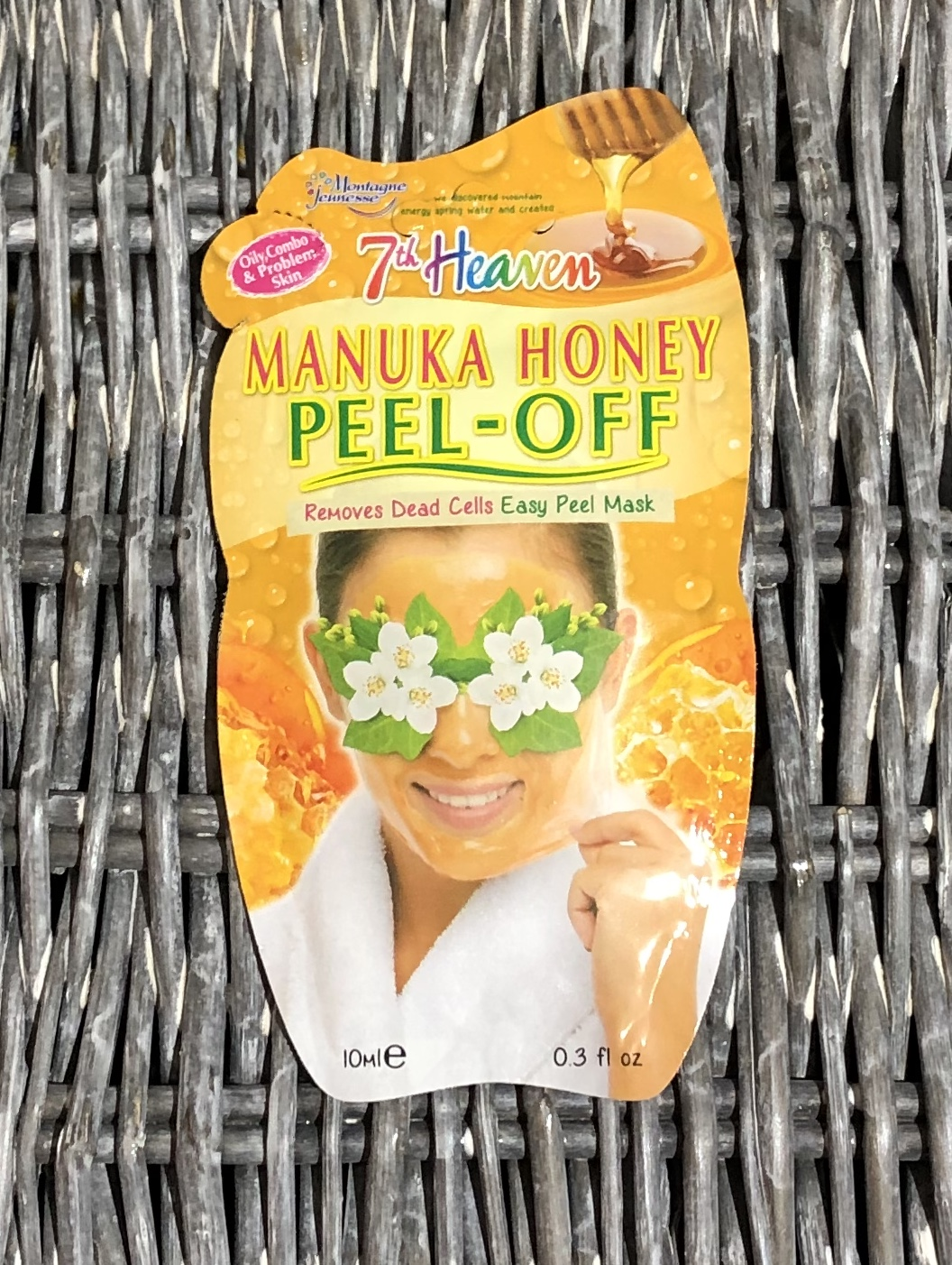 7th Heaven Manuka Honey Peel-Off Mask Review graphic