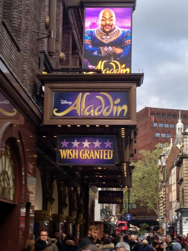 Disney's Aladdin West End Musical – The Prince Edward Theatre graphic
