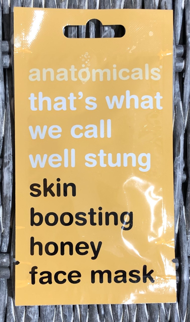 Anatomicals That's What We Call Well Stung Skin Boosting Honey Face Mask Review graphic