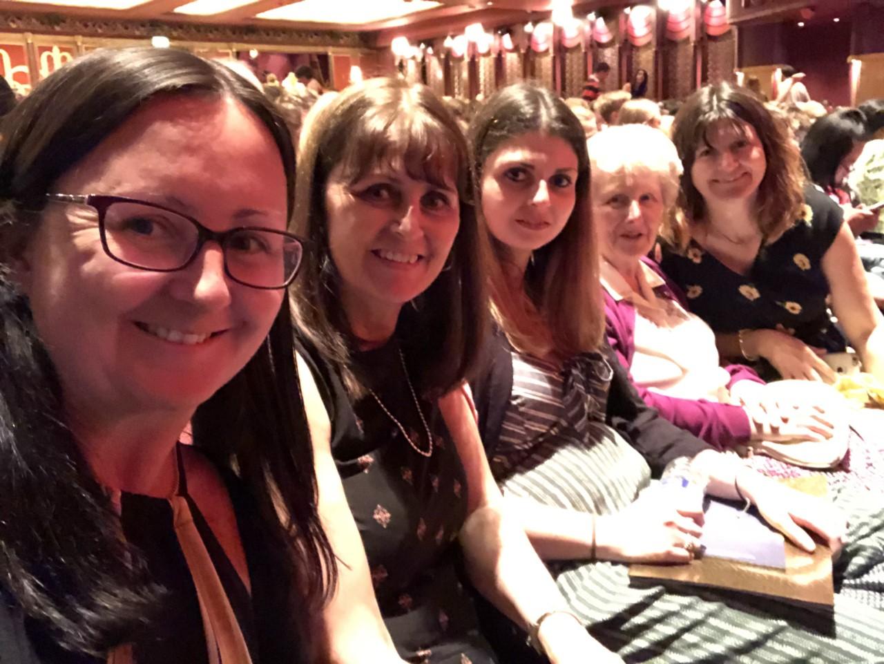 theatre selfie