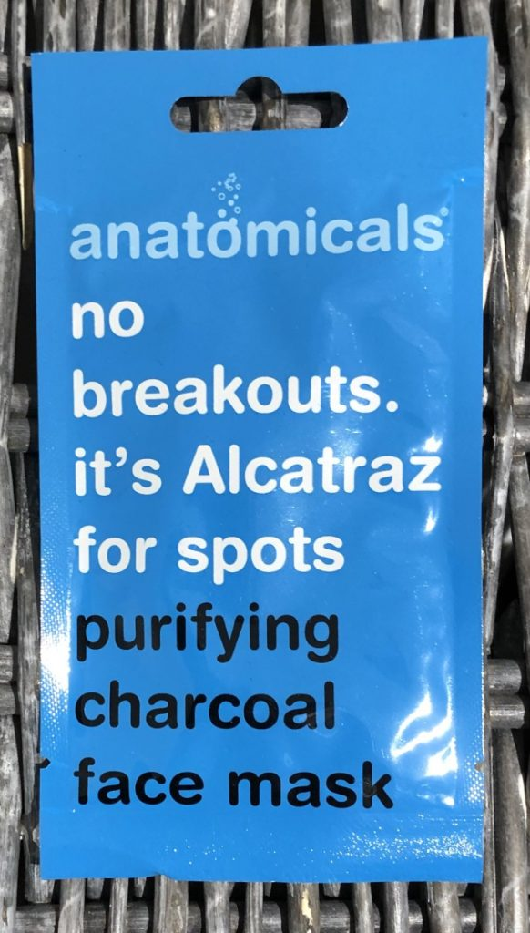 Anatomicals No Breakout It's Alcatraz For Spots Purifying Charcoal Face Mask Review graphic