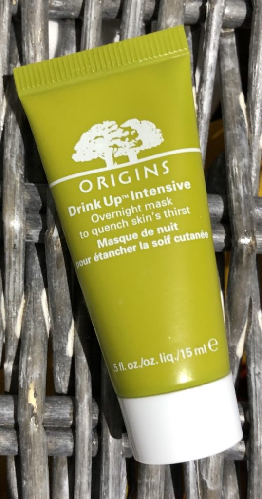 Origins Drink Up Intense Overnight Mask Review graphic