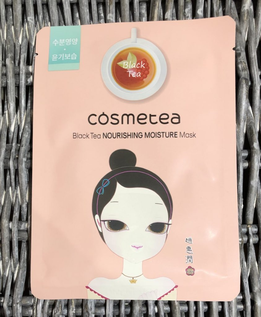Cosmetea Black Tea Nourishing Moisture Mask Review graphic