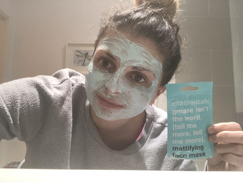Anatomicals Grease Isn't The Word. (Tell Me More, Tell Me More) Mattifying Face Mask Review graphic