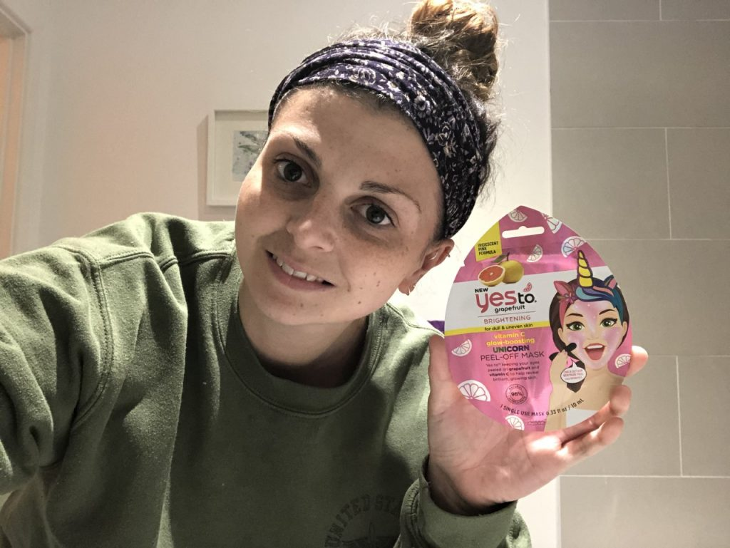 Yes To Grapefruit Vitamin C Glow-boosting Unicorn Peel-off Mask Review