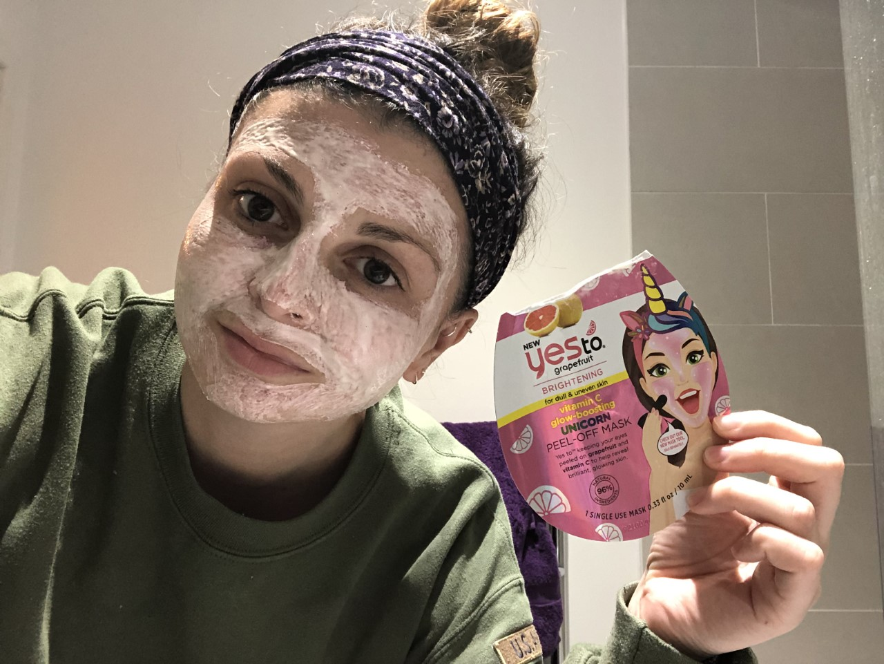 yes to face mask