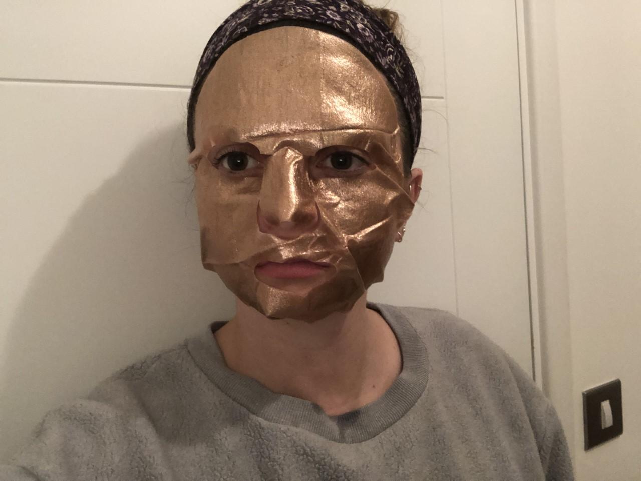 rose gold mask