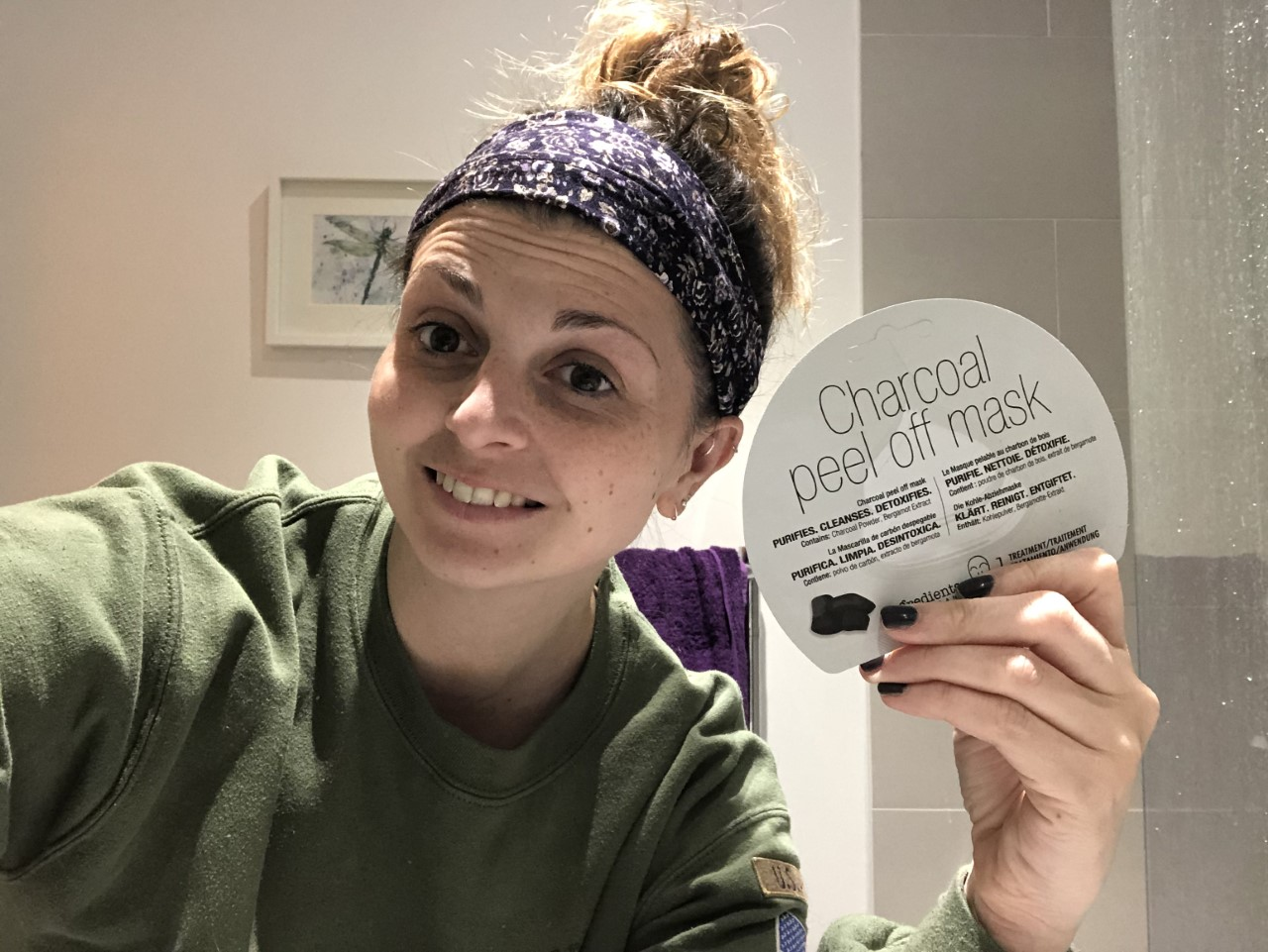 In.gredients Charcoal Peel Off Mask Review graphic