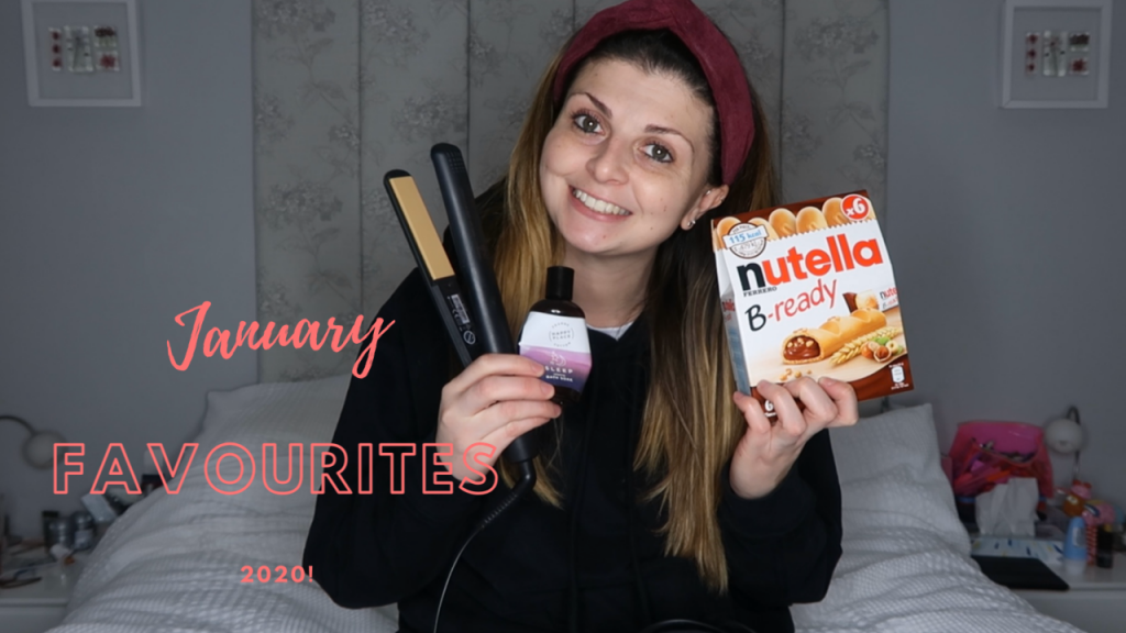 January Favourites 2020 graphic