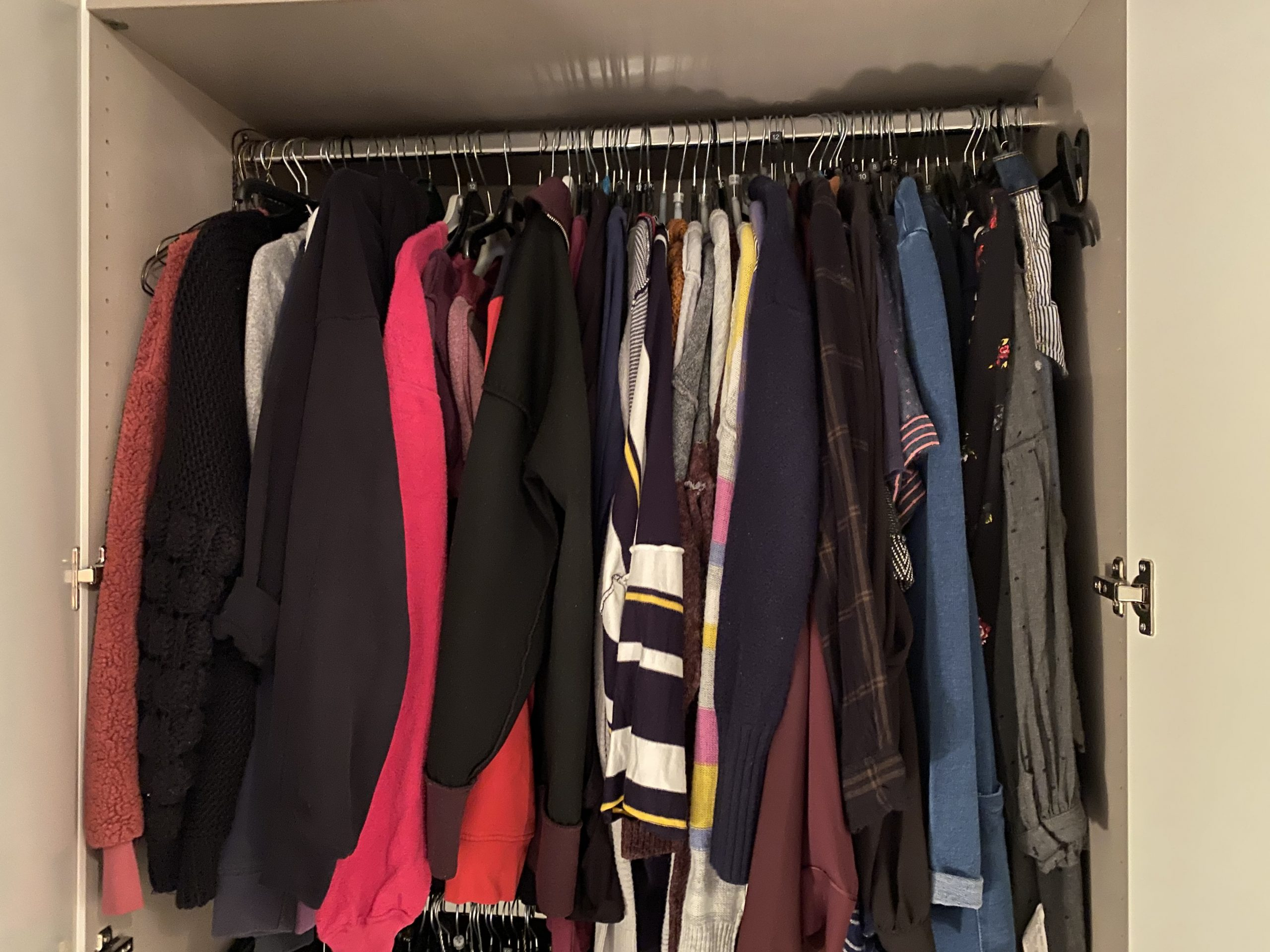 organising your wardrobe