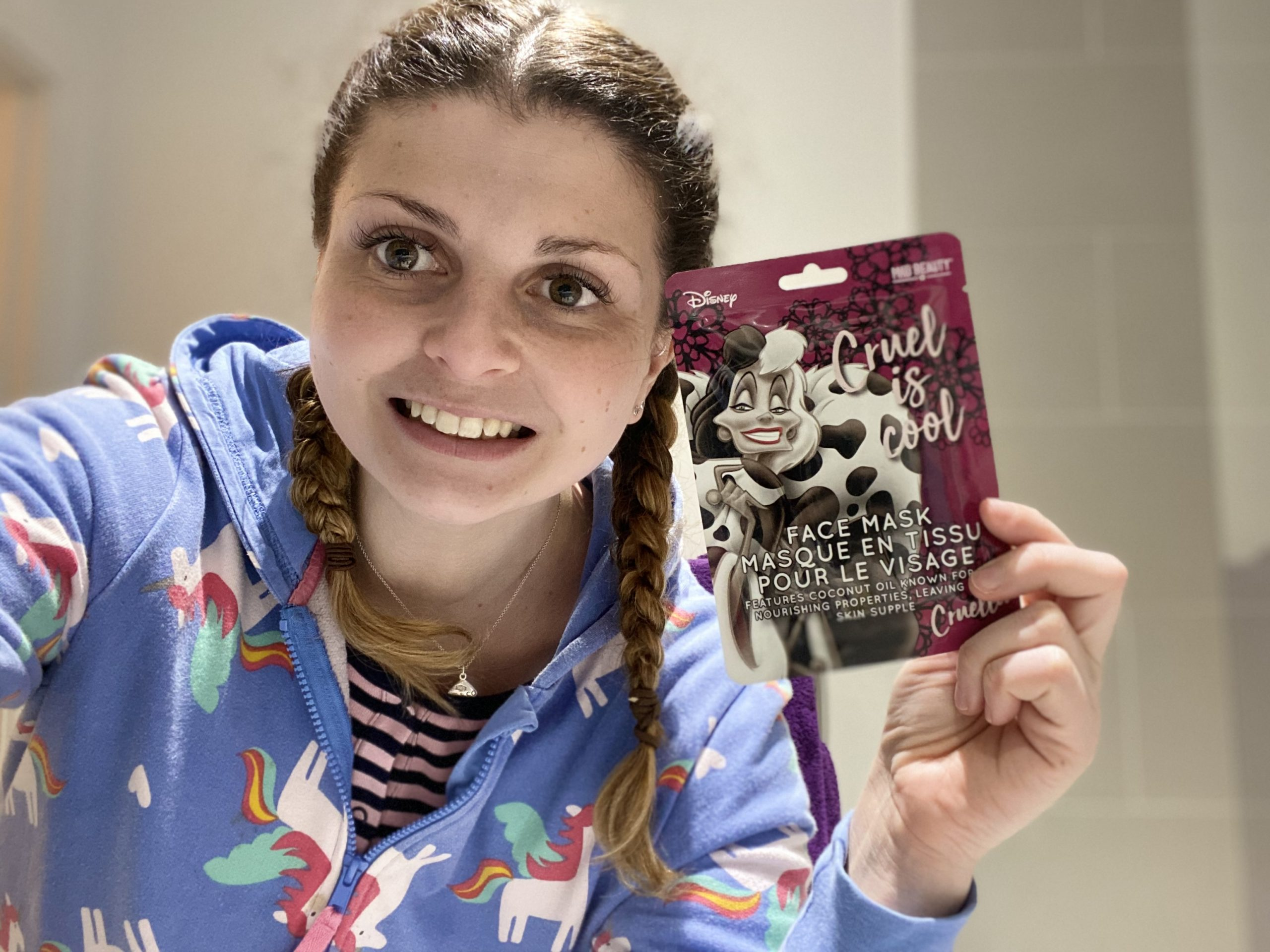 MAD Beauty Cruel is Cool Face Mask Review (Cruella) graphic