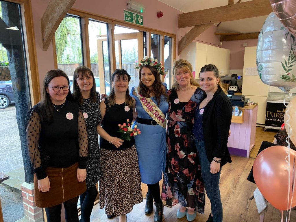 Zoe's Afternoon Tea Hen Party at Rosey Lea's Tearoom graphic