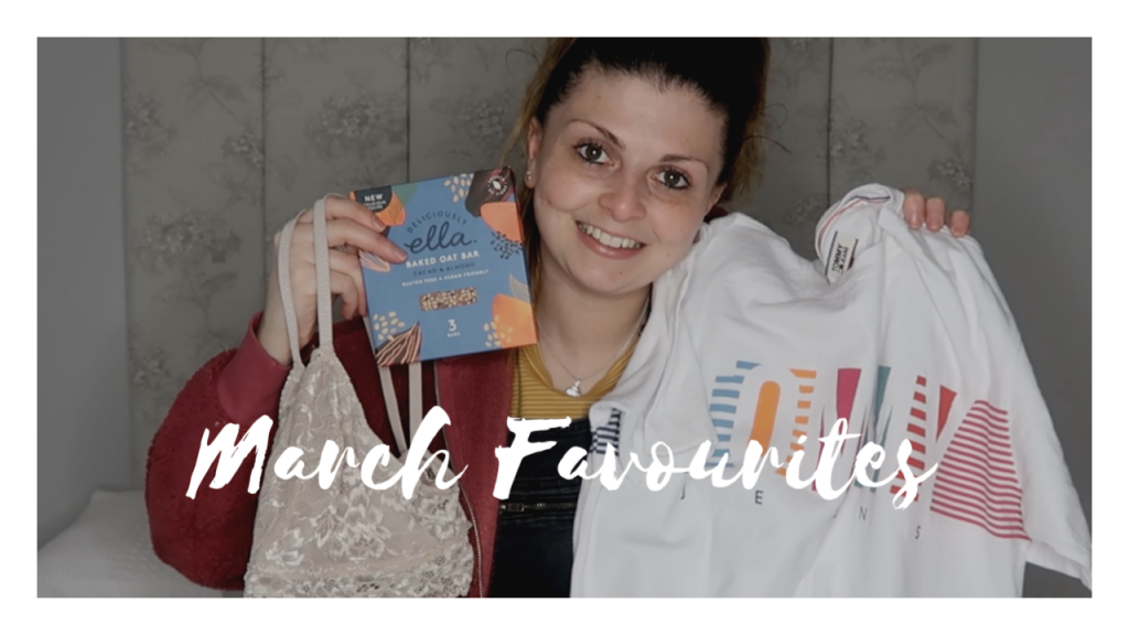 March Favourites 2020 graphic