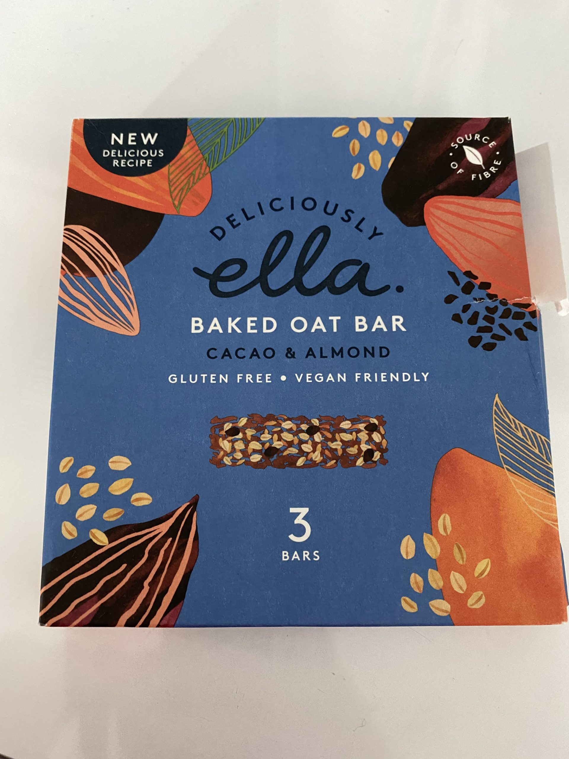 vegan oat bars