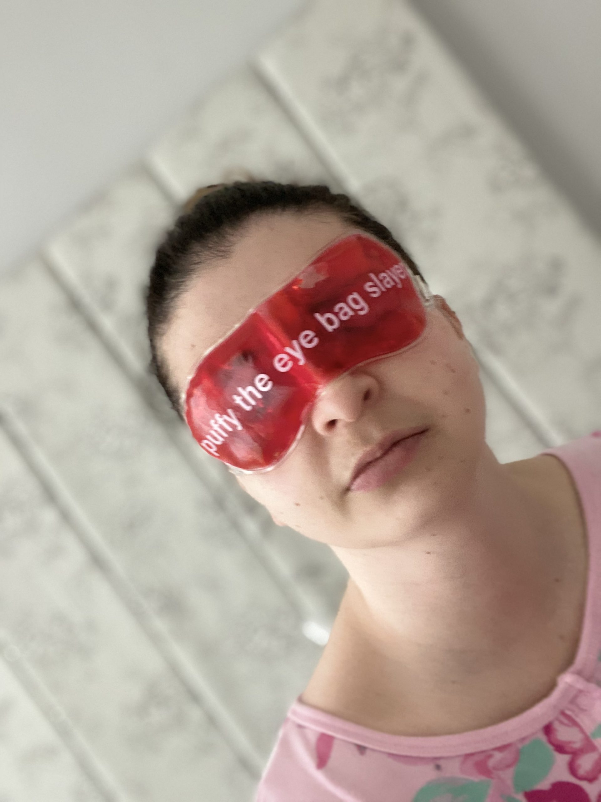 Anatomicals Puffy The Eye Bag Slayer Revitalising Gel Eye Mask Review graphic