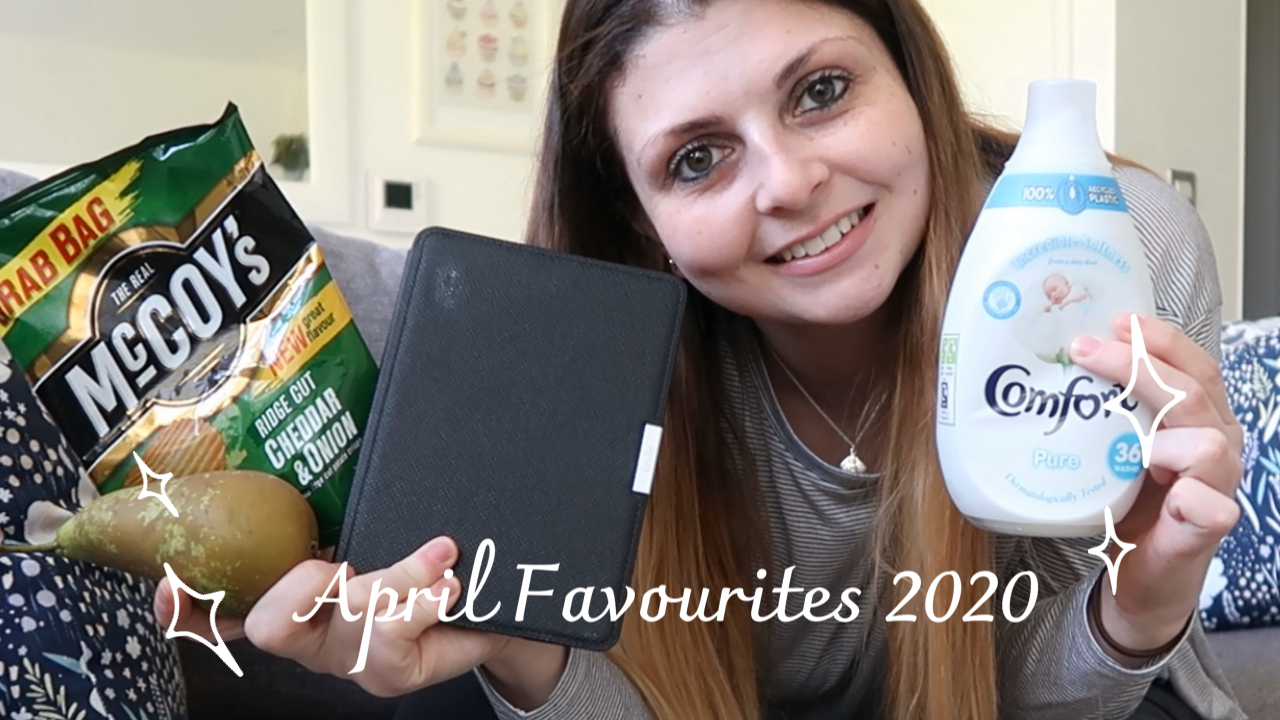 April Favourites 2020 graphic