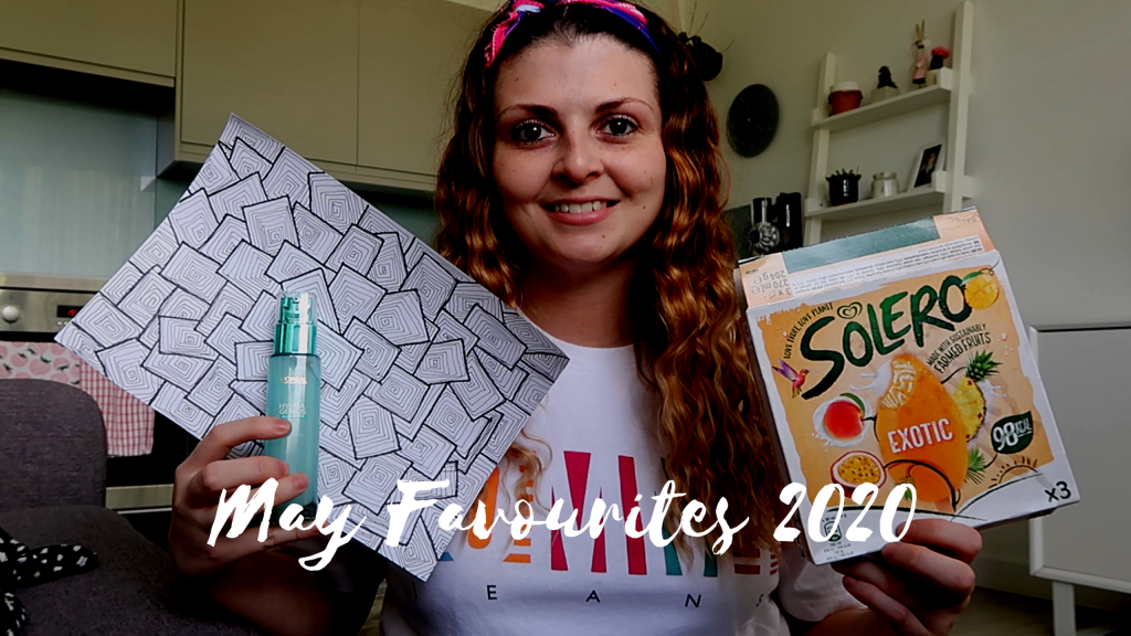 May Favourites 2020 graphic